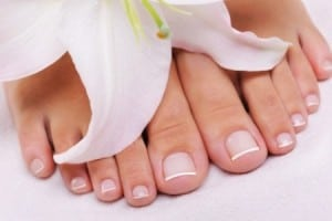 french-pedicure