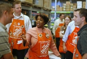 A Home Depot application can turn into the start of something big for you and your family.