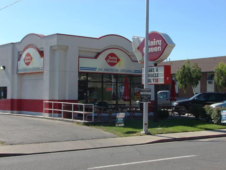 A Dairy Queen application for an hourly position can only filled out at the store.