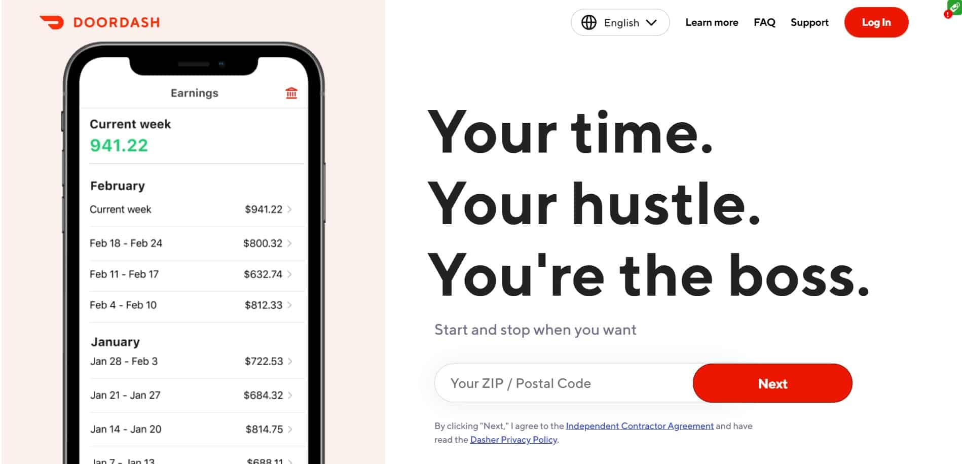 How Much Does Doordash Pay Dailyworkhorse Com
