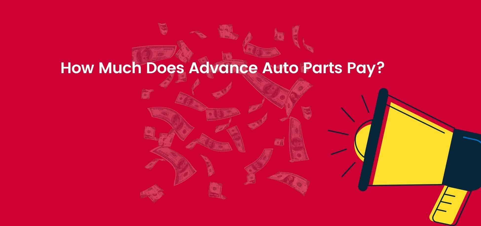 The Advance Auto Parts starting hourly pay leaves a lot to be desired but at least there is room to grow within the company.