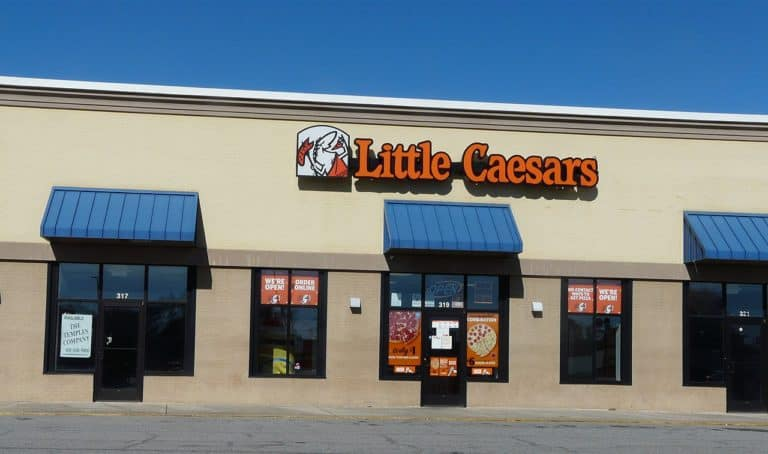 A Little Caesars application doesn't provide a good starting pay but offers a chance at being promoted to a management position rather quickly.