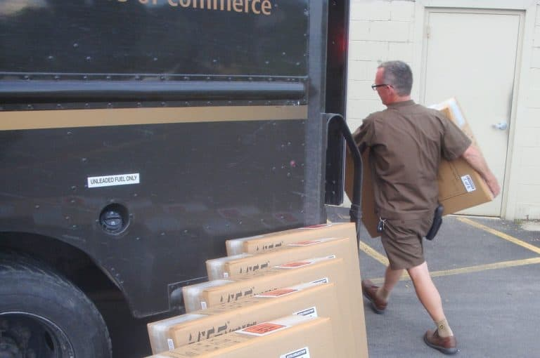 The UPS hiring process is different for package delivery drivers.